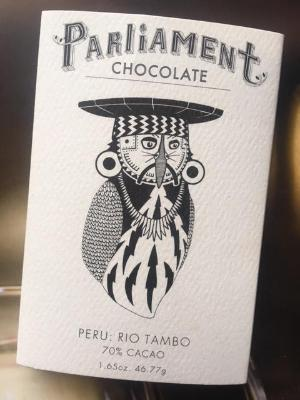 70% Peru - Cococlectic: A Craft Bean-to-Bar Club featuring different American craft chocolate makers each month