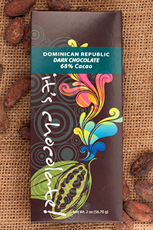 Dominican Republic 68% - Cococlectic: A Craft Bean-to-Bar Club featuring different American craft chocolate makers each month