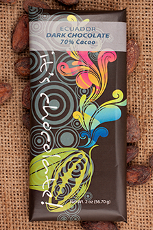 Ecuador 70% - Cococlectic: A Craft Bean-to-Bar Club featuring different American craft chocolate makers each month