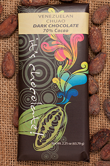 Venezuelan, Chuao 70% - Cococlectic: A Craft Bean-to-Bar Club featuring different American craft chocolate makers each month