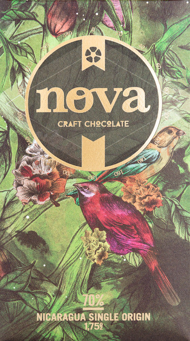 70% Nicaragua - Cococlectic: A Craft Bean-to-Bar Club featuring different American craft chocolate makers each month