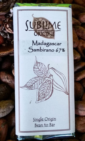 Madagascar (Sambirano Valley) 67% - Cococlectic: A Craft Bean-to-Bar Club featuring different American craft chocolate makers each month