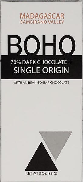 70% Madagascar - Akesson Estate - Cococlectic: A Craft Bean-to-Bar Club featuring different American craft chocolate makers each month