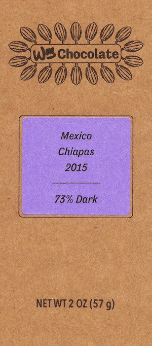 Mexico, Chiapas 73% - Cococlectic: A Craft Bean-to-Bar Club featuring different American craft chocolate makers each month