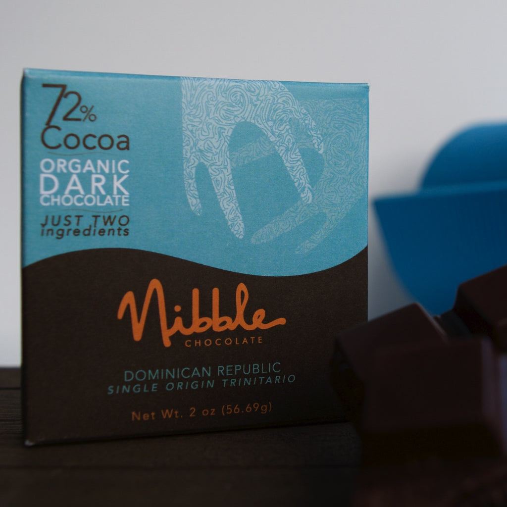 Dominican Republic 72% - Cococlectic: A Craft Bean-to-Bar Club featuring different American craft chocolate makers each month
