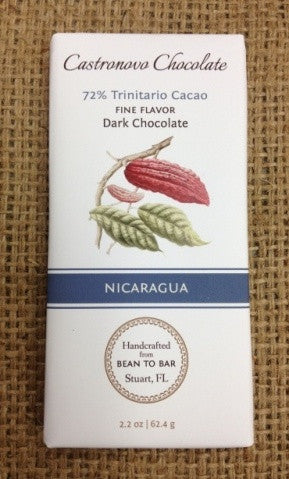 Nicaragua - 72% Trinitario - Cococlectic: A Craft Bean-to-Bar Club featuring different American craft chocolate makers each month