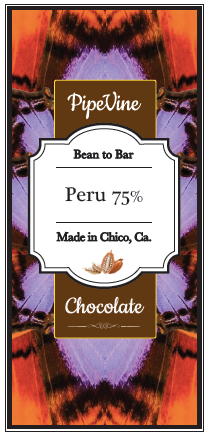 Peru 75% - Cococlectic: A Craft Bean-to-Bar Club featuring different American craft chocolate makers each month