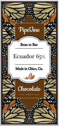 Ecuador 65% - Cococlectic: A Craft Bean-to-Bar Club featuring different American craft chocolate makers each month