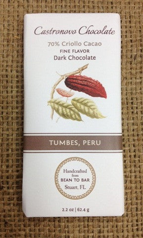 Tumbes, Peru - 70% Criollo - Cococlectic: A Craft Bean-to-Bar Club featuring different American craft chocolate makers each month