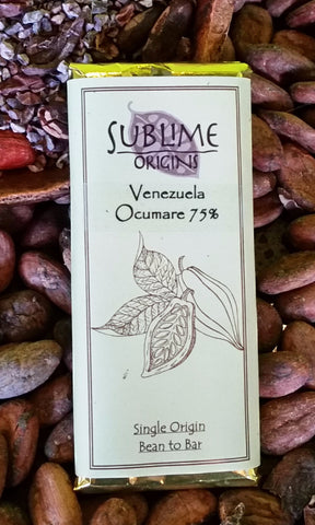 Venezuela (Ocumare) 75% - Cococlectic: A Craft Bean-to-Bar Club featuring different American craft chocolate makers each month