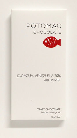 70% Cuyagua, Venezuela - Cococlectic: A Craft Bean-to-Bar Club featuring different American craft chocolate makers each month