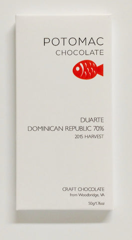 70% Duarte, Dominican Republic - Cococlectic: A Craft Bean-to-Bar Club featuring different American craft chocolate makers each month