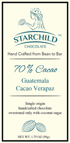Guatemala- Cacao Verapaz - Cococlectic: A Craft Bean-to-Bar Club