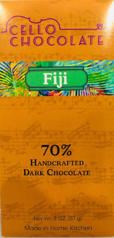 Fiji 70% - Cococlectic: A Craft Bean-to-Bar Club featuring different American craft chocolate makers each month