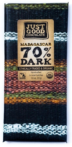 Madagascar 70% - Cococlectic: A Craft Bean-to-Bar Club featuring different American craft chocolate makers each month