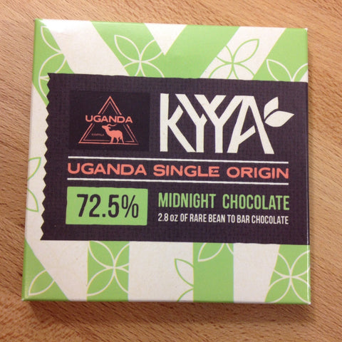 72.5% Uganda Single Origin - Cococlectic: A Craft Bean-to-Bar Club featuring different American craft chocolate makers each month