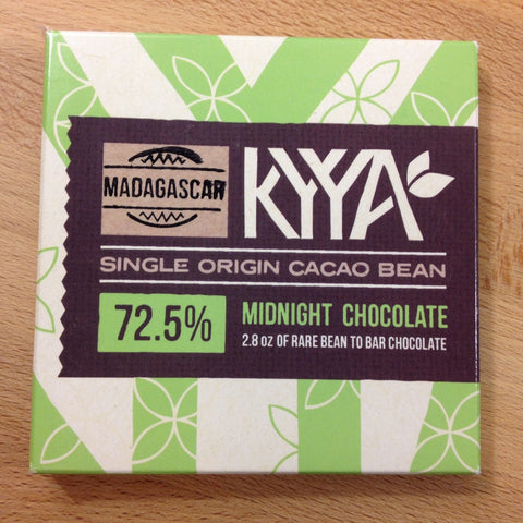 72.5% Madagascar Single Origin - Cococlectic: A Craft Bean-to-Bar Club featuring different American craft chocolate makers each month