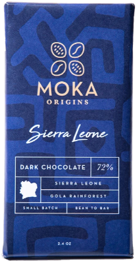 72% Gola Rainforest, Serra Leone  - Cococlectic: A Craft Bean-to-Bar Club featuring different American craft chocolate makers each month