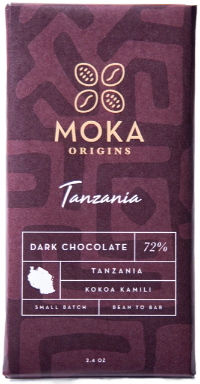 72% Mbingu Village, Morogoro Region, Tanzania - Cococlectic: A Craft Bean-to-Bar Club featuring different American craft chocolate makers each month
