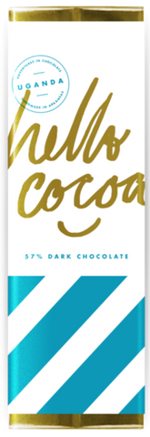 Uganda 57% - Cococlectic: A Craft Bean-to-Bar Club featuring different American craft chocolate makers each month