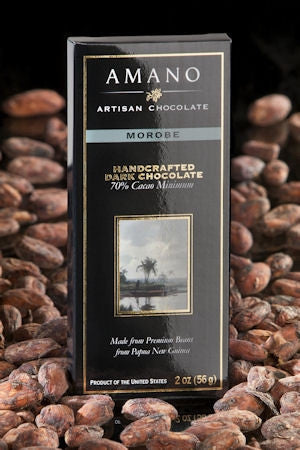 Morobe 70% Dark Chocolate - Cococlectic: A Craft Bean-to-Bar Club featuring different American craft chocolate makers each month