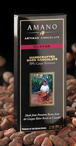 Guayas 70% Dark Chocolate - Cococlectic: A Craft Bean-to-Bar Club featuring different American craft chocolate makers each month