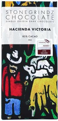 Hacienda Victoria 85% (Cerecita, Ecuador) - Cococlectic: A Craft Bean-to-Bar Club featuring different American craft chocolate makers each month