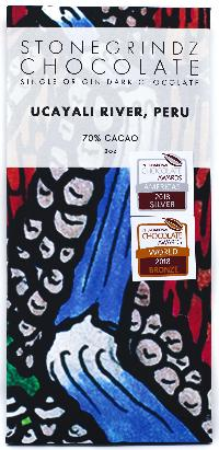 Ucayali River, Peru 70% - Cococlectic: A Craft Bean-to-Bar Club featuring different American craft chocolate makers each month