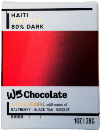 Haiti, Kafupbo - 80% Dark  - Cococlectic: A Craft Bean-to-Bar Club featuring different American craft chocolate makers each month
