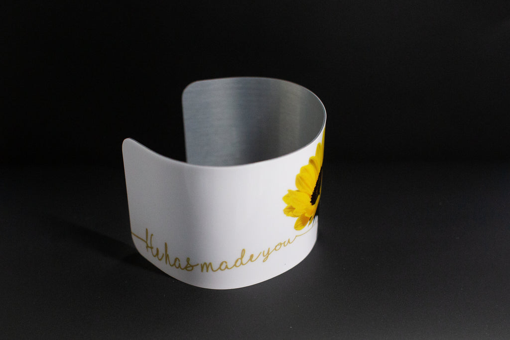 Cuff bracelet-He Has Made You Victorious