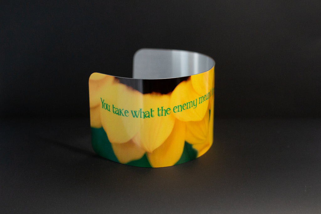 Cuff bracelet- Turn It Around