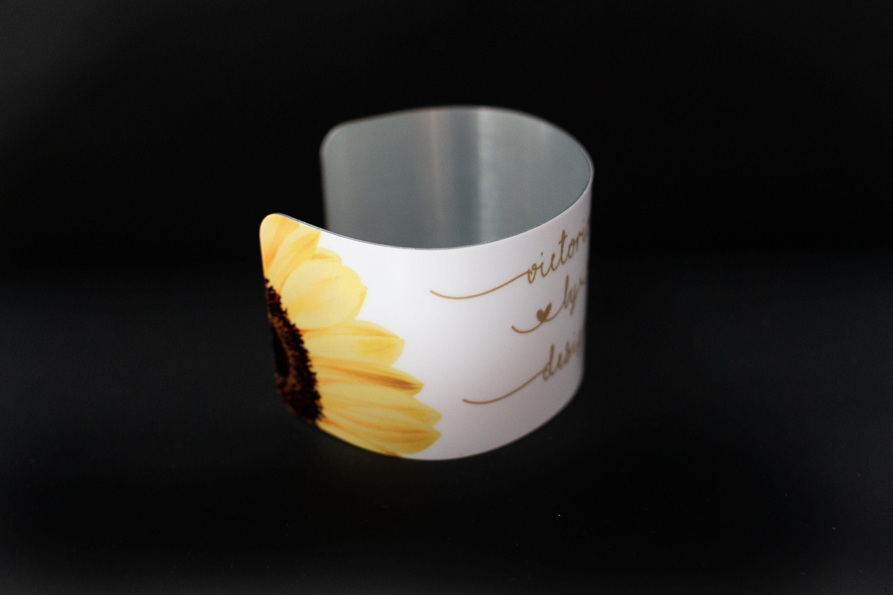 Cuff  bracelet- Victorious by Design