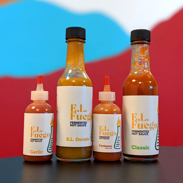 E.L Fuego fermented hot sauce is now live!