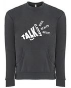 Mental Health Matters Pocket Crew Sweatshirt