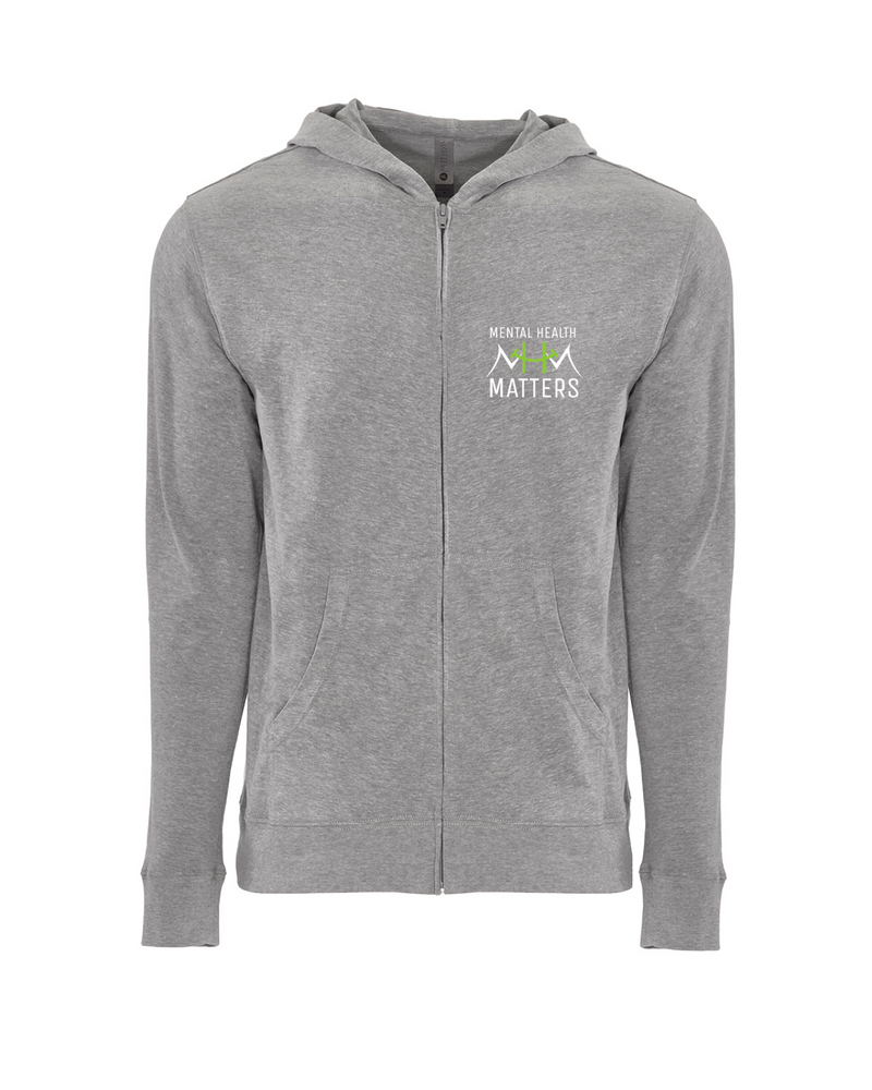 Mental Health Sueded Lightweight Hoody