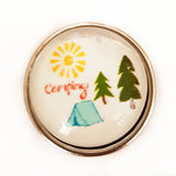 Camping jewelry custom your own image snap jewelry