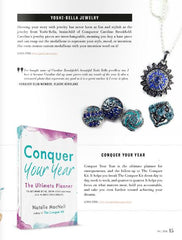 Conquer Magazine Natalie Macneil jewelry feature Yoshi-Bella Snap Jewelry