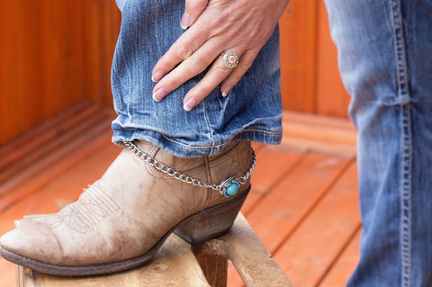boot charm cowboy boot snap jewelry