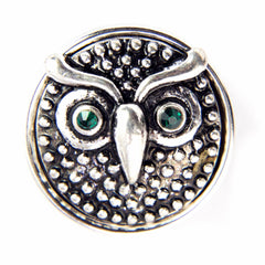 owl snap jewelry gingersnaps