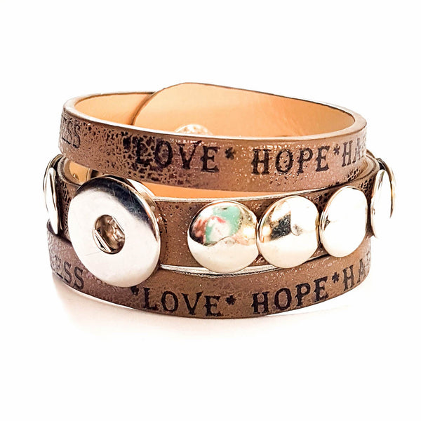 Love and Happiness False Wrap - Rivets