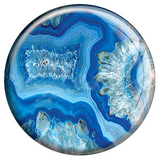 Painted Agate - Blue