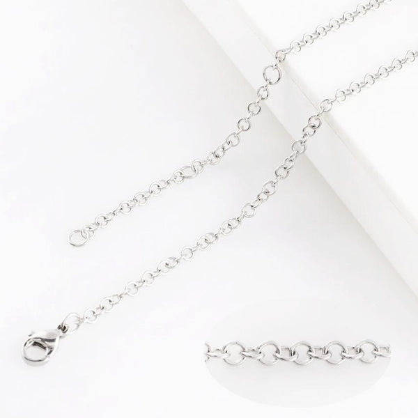Stainless Steel Link Style Chain -lg link 60cm