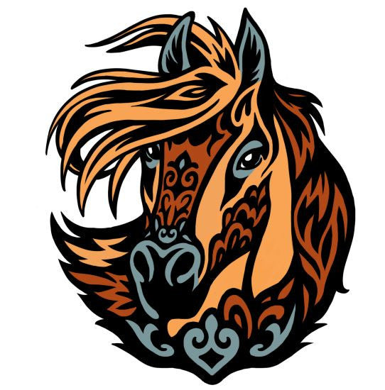 Artistic Canada Horse - Exclusive Design