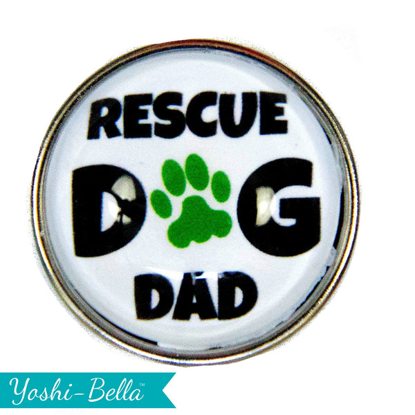 Rescue Dog Dad - Green