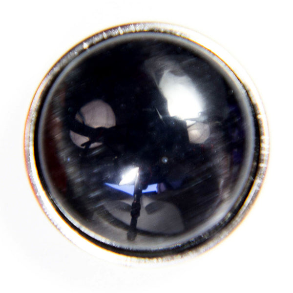 Cats Eye Regular Medallion - Black