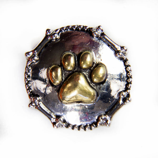Pawprint-Silver/Gold