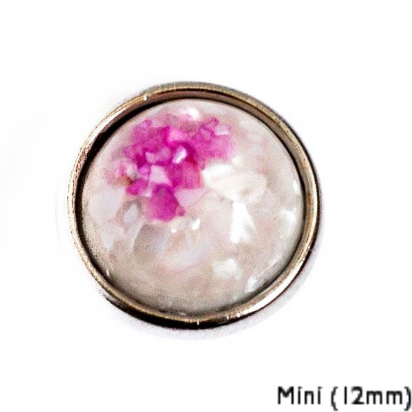 Mini Resin Shell - Pink