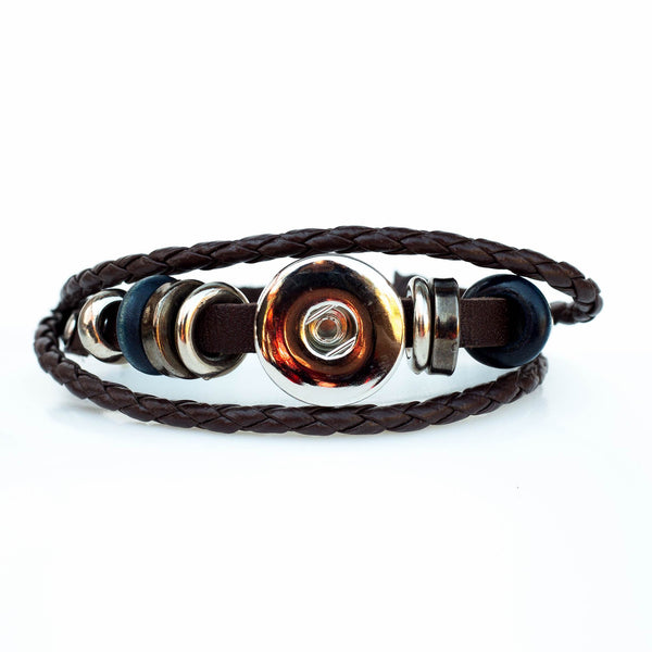Xena Adjustable Bracelet - Brown