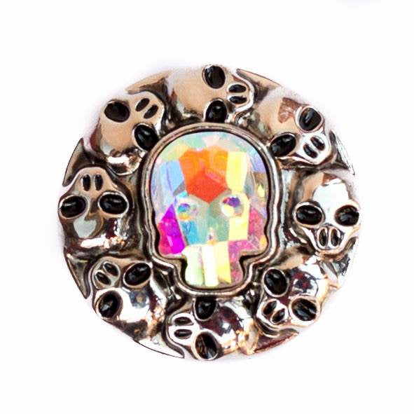 Skull Crystal - Rainbow