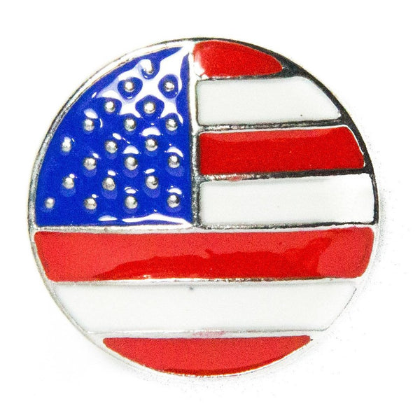 Flag - USA - Enamel